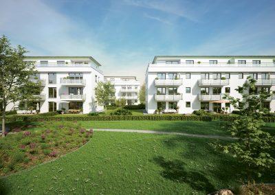 Unterhaching – Wohnen an der Grünen Mitte 2. BA