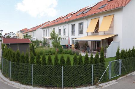 Reihenhäuser – Kapellenstraße, Säulenstraße
