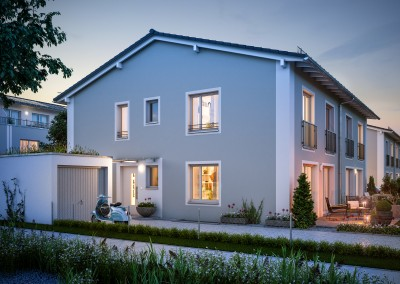 Unterhaching – Doppelhäuser Hubertusanger