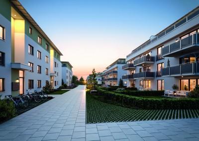 Unterhaching – Wohnen an der Grünen Mitte 1. BA