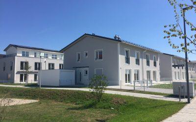 Doppelhäuser Hubertusanger in Unterhaching bezugsfertig